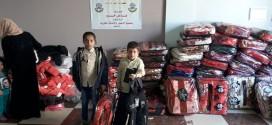توزيع معونة الشتاء علي الأسر الفقيرة والمحتاجة